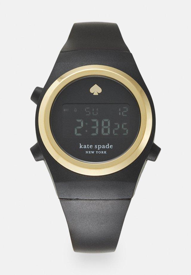 RUMSEY - Digitální hodinky - black