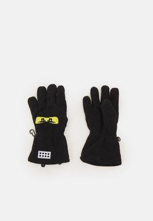GLOVE UNISEX - Gloves - black