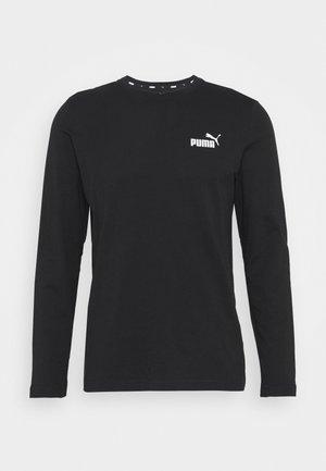 SMALL LOGO LONGSLEEVE TEE - T-shirt à manches longues - puma black
