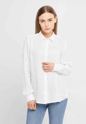 ANNE - Button-down blouse - white