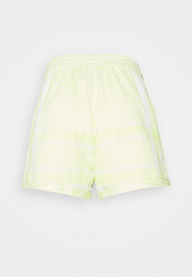 Shorts - avocado green