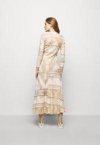 Polo Ralph Lauren - NOVELTY TEXTURE - Jumper dress - beige/multicoloured - 2
