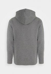 Selected Homme - JACKSON HOOD - Hoodie - medium grey melange - 8