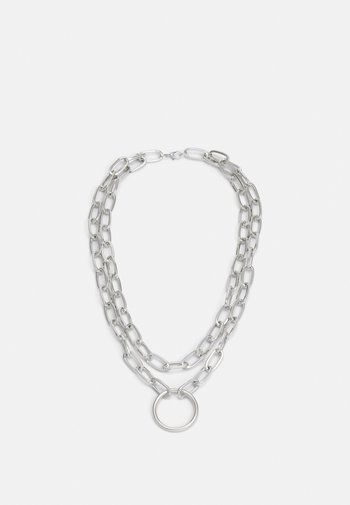 NECKLACE UNISEX - Necklace - silver-coloured