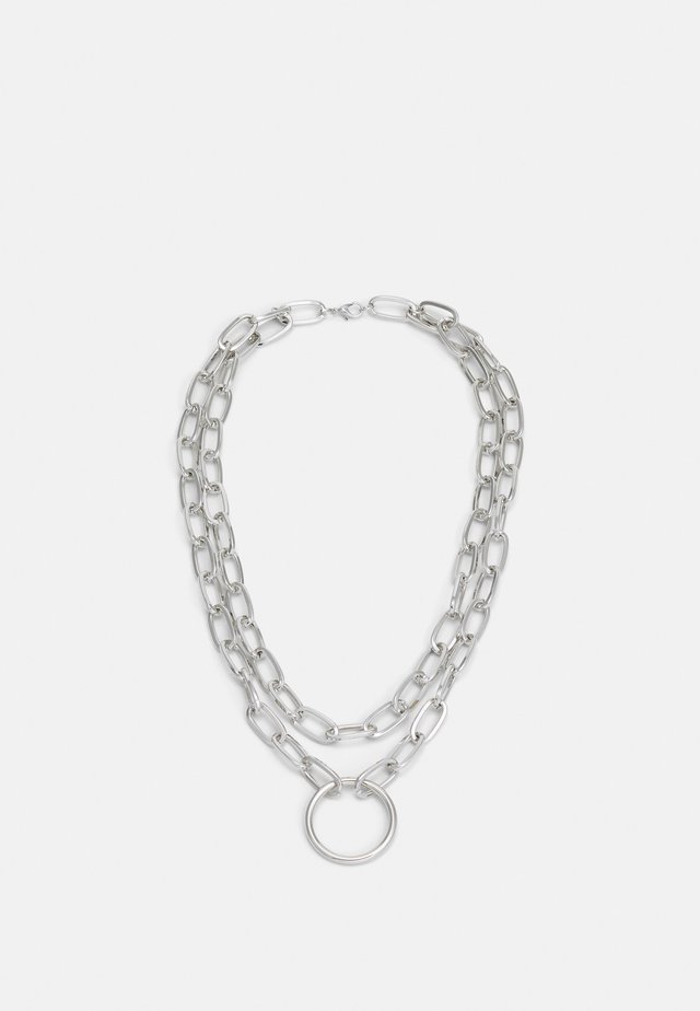 NECKLACE UNISEX - Collier - silver-coloured