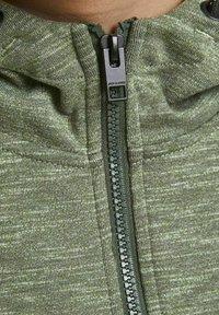 Jack & Jones Junior - Zip-up sweatshirt - oil green - 4