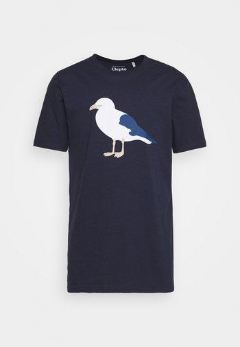 GULL - Print T-shirt - dark navy