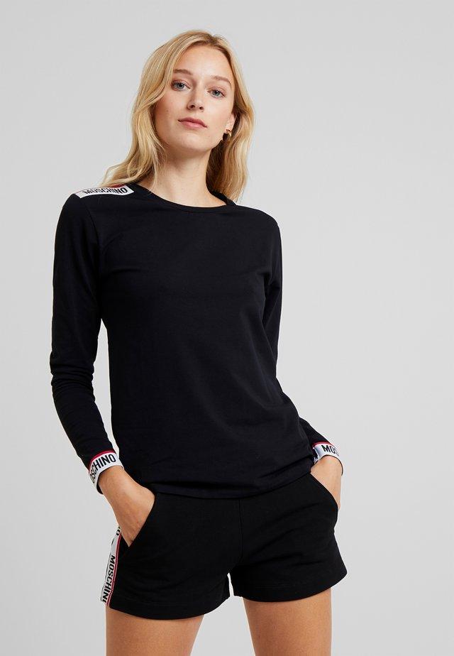 LONG SLEEVE - Maglia del pigiama - black