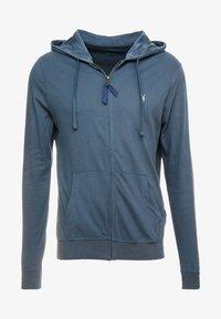 AllSaints - BRACE HOODY - Zip-up hoodie - pier blue - 4