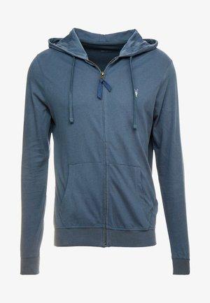 BRACE HOODY - veste en sweat zippée - pier blue