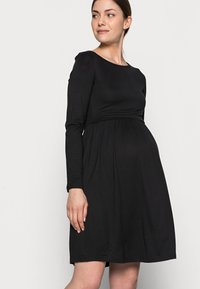 Anna Field MAMA - NURSING - Jersey Dress - Sukienka z dżerseju - black - 3