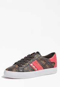 Guess - GRASEY 4G-LOGO - Trainers - mehrfarbig braun - 2