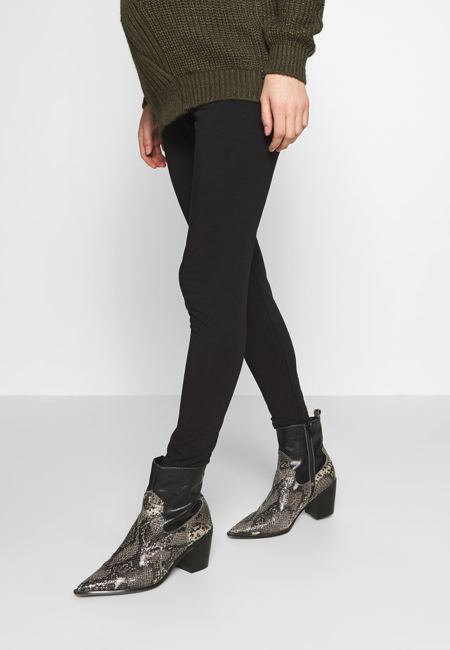 MATERNITY  - Leggings - Trousers - black
