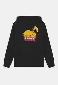 Levi's® - LEVIS POKEMON HOODIE UNISEX - Jersey con capucha - black - 0