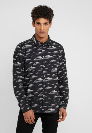 TAILOREDFIT SHIRT FLYING SAUCER - Overhemd - black