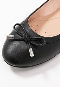 Geox - CHARLENE - Bailarinas - black - 2