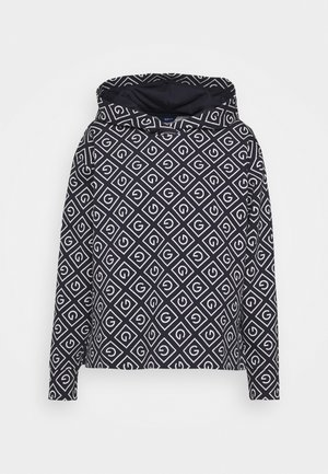 ICON HOODIE - T-shirt à manches longues - evening blue