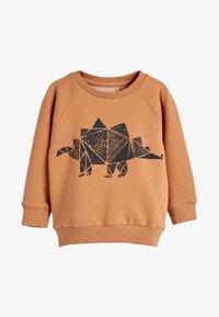 Next - TAN STEGOSAURUS - Sweatshirt - beige - 0