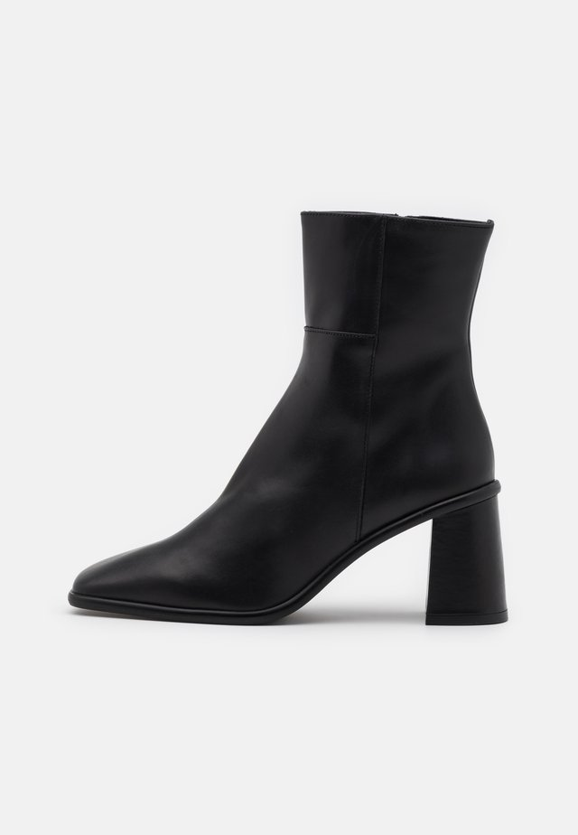 WEST - Classic ankle boots - total black