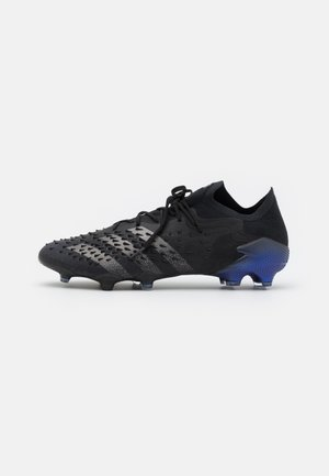PREDATOR FREAK .1 FG - Moulded stud football boots - core black/iron metallic/sonic ink