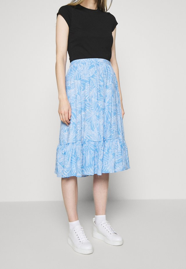 RAELIN SKIRT - Spódnica trapezowa - light iris blue