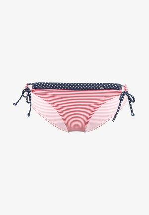Braguita de bikini - red/white