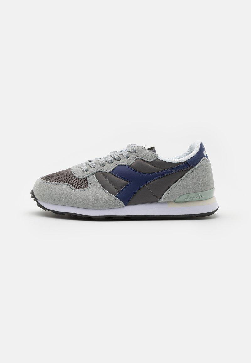 Diadora - ICONA UNISEX - Sneakers - high-rise/charcoal grey/blue