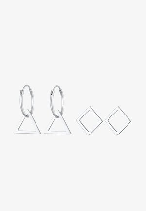 SET - Boucles d'oreilles - silver-coloured
