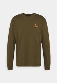 Edwin - SYNERGY UNISEX - Long sleeved top - uniform green - 0