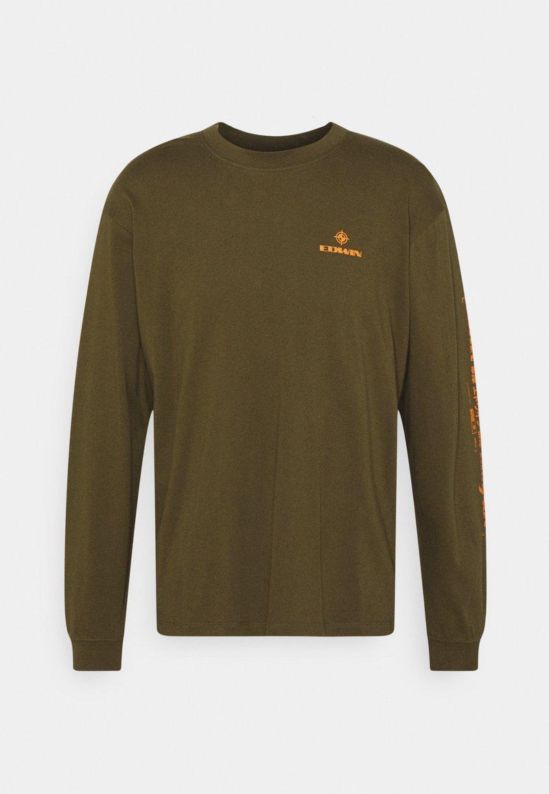 Edwin - SYNERGY UNISEX - Long sleeved top - uniform green