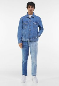 Bershka - Jeansjacka - blue denim