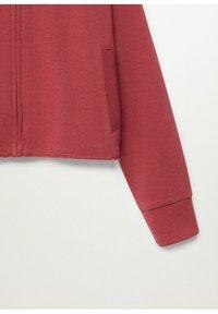 Mango - BELLY - Zip-up hoodie - kersenrood - 2