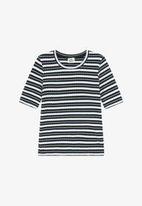 Mads Nørgaard - DREAM STRIPE TUVIANA - Camiseta estampada - navy - 2