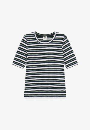 DREAM STRIPE TUVIANA - Print T-shirt - navy