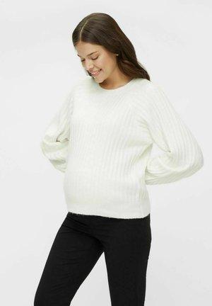 Sweter - bright white