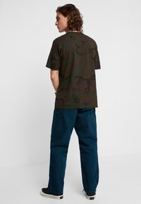 Carhartt WIP - SINGLE KNEE PANT DEARBORN - Jeans Straight Leg - duck blue rinsed - 2
