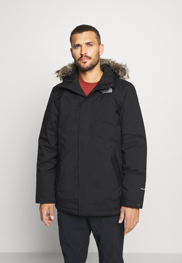 ZANECK JACKET UTILITY - Outdoorjas - black