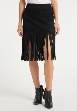 Pencil skirt - schwarz
