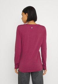 Ragwear - FLORAH LONG  - Long sleeved top - raspberry - 2