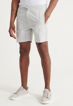 SUPERDRY EDIT TAPER DRAWSTRING SHORTS - Shorts - grey feeder