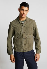 Levi's® - IRONIC ICONIC TRUCKER - Giacca leggera - olive night - 0