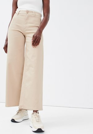 Flared Jeans - sable