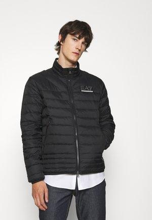 Down jacket - black/silver
