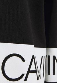 Calvin Klein Jeans - Hoodie - black/bright white - 5