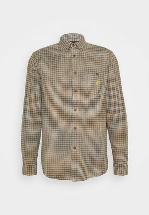 ARCHIVE CHECK SHIRT RELAXED FIT - Camicia - sesame check