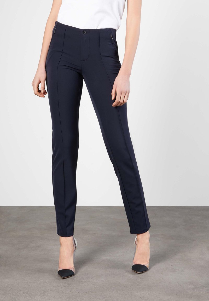 MAC Jeans - ANNA  - Trousers - dark blue