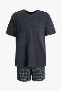 Schiesser - SET - Pyjama - anthrazit - 5
