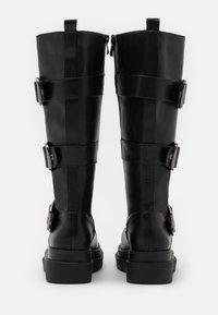 Koi Footwear - VEGAN - Platform boots - black - 2
