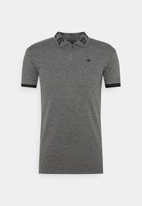 SIKSILK - OLD ENGLISH INSET - Poloshirt - dark grey marl - 3