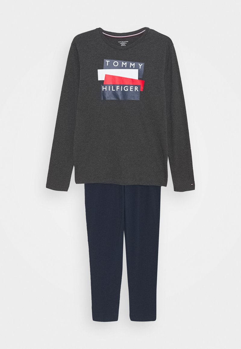 Tommy Hilfiger - GRAPHIC PRINT SET - Pyjamaser - grey